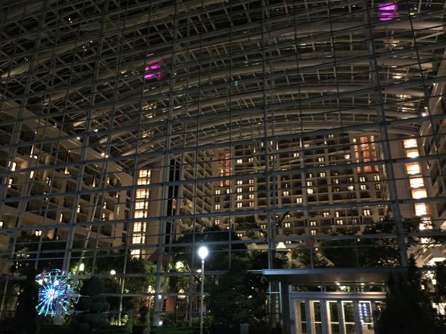 Gaylord Hotel atrium National Harbor