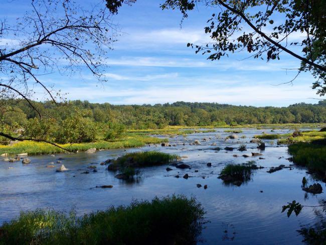 Potomac River from Turkey Run Park