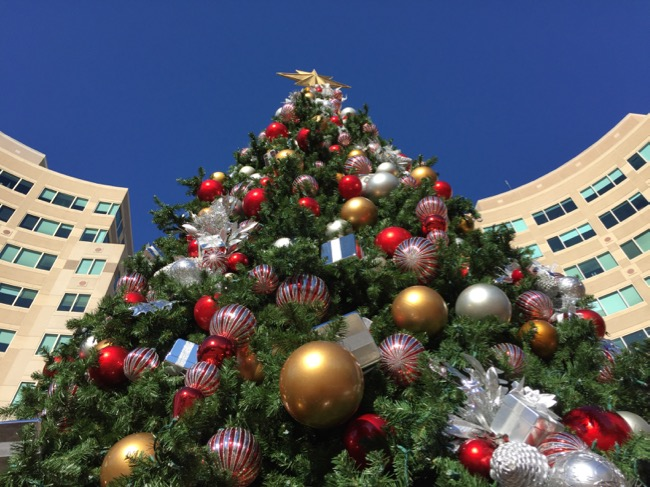 Reston Town Center Christmas tree 2015