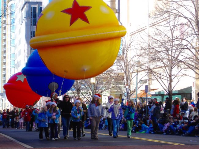 Reston Town Center Holidays Are Here Parade