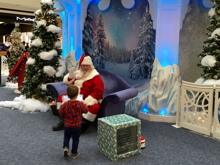 Santa's Flight Academy at Fair Oaks Mall