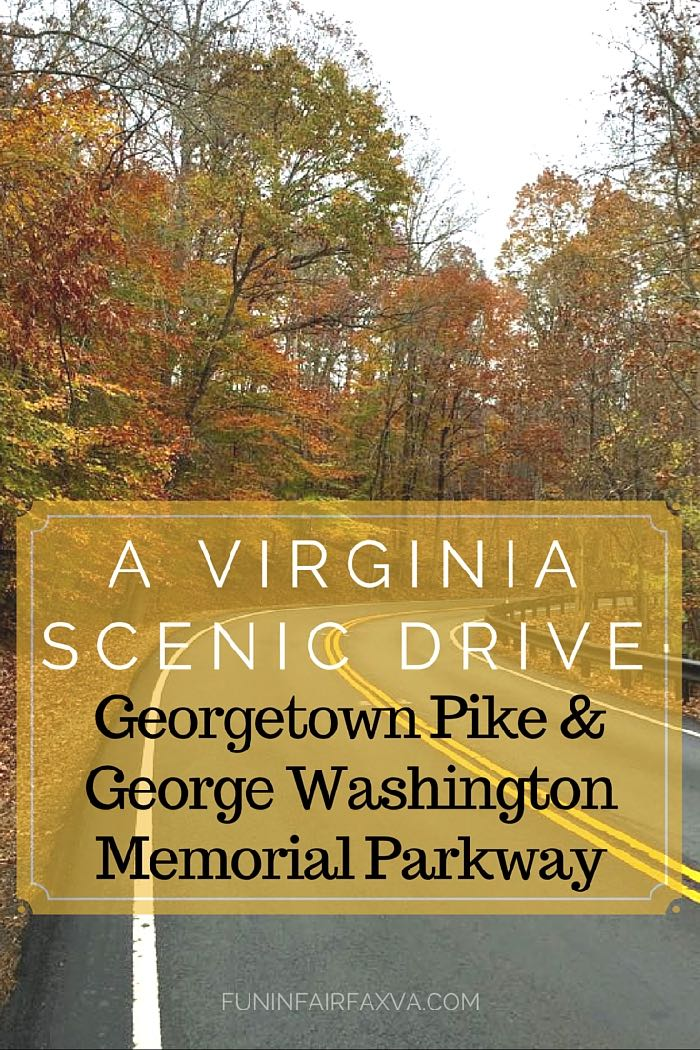 Historic Georgetown Pike and the George Washington Memorial Parkway offer beautiful scenery, interesting parks, and great hikes along the Potomac River.