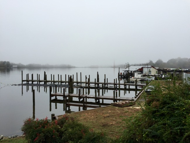 View from Reedville, Northern Neck, Virginia