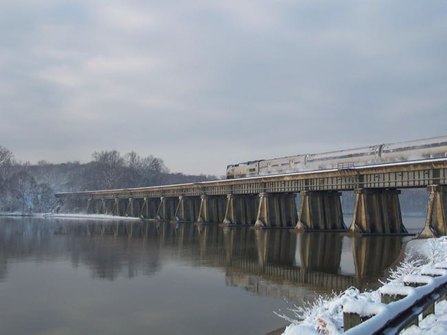 Leesylvania State Park in winter