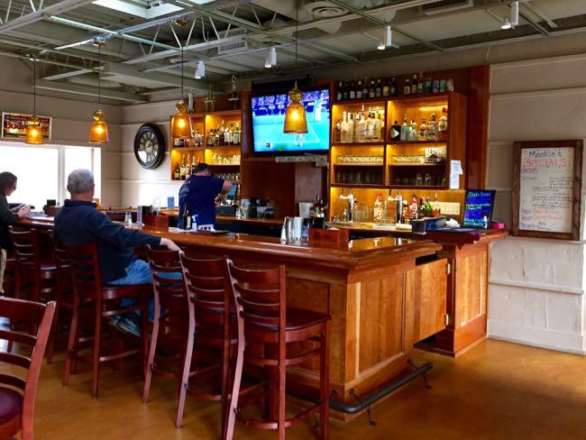Bar at Mookie's BBQ
