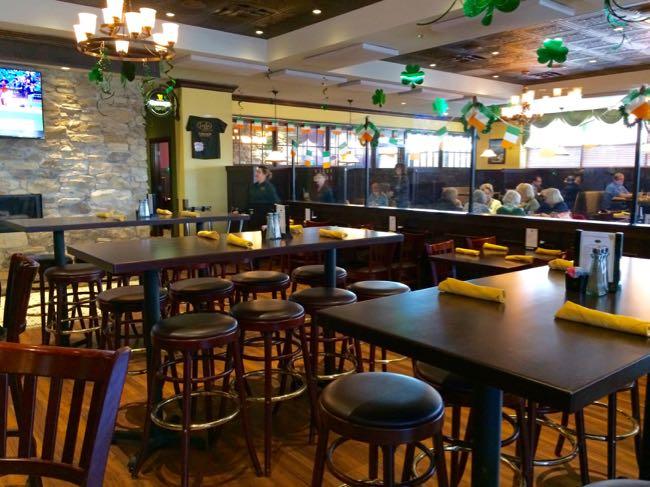 Bar seating at Fiona's Irish Pub, Alexandria VA