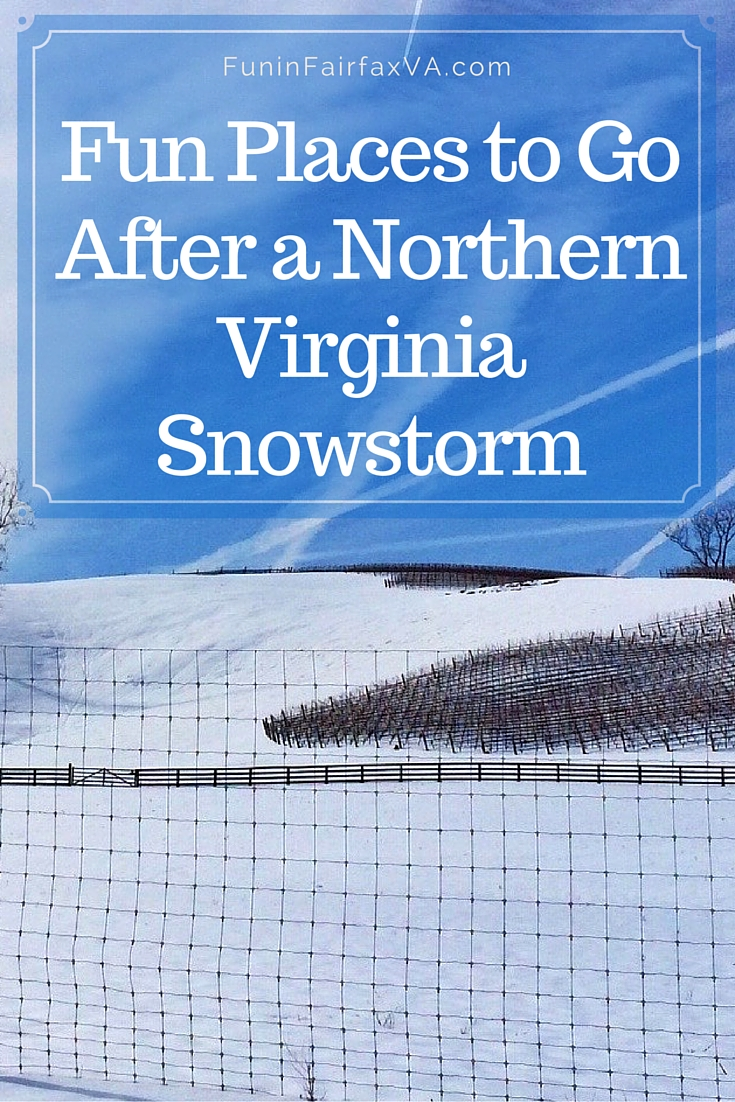 Here are some fun places to go and things to do after a Northern Virginia snowstorm, whether you want to play outside or in.