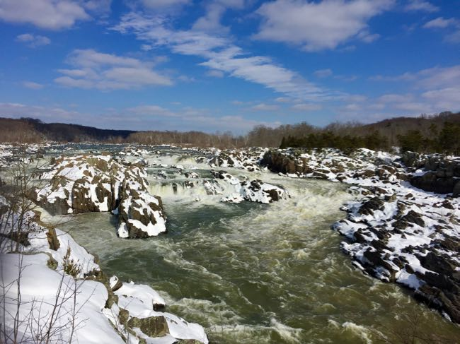 Great Falls National Park in Fairfax County, Virginia