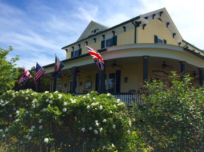 Griffin Tavern in Flint Hill Virginia is a wonderful British Pub near Shenandoah National Park