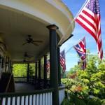 Griffin Tavern porch, Flint Hill