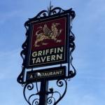 Griffin Tavern sign, Flint Hill