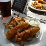 Hunters Head Tavern fish and chips