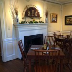 Dining room at Griffin Tavern