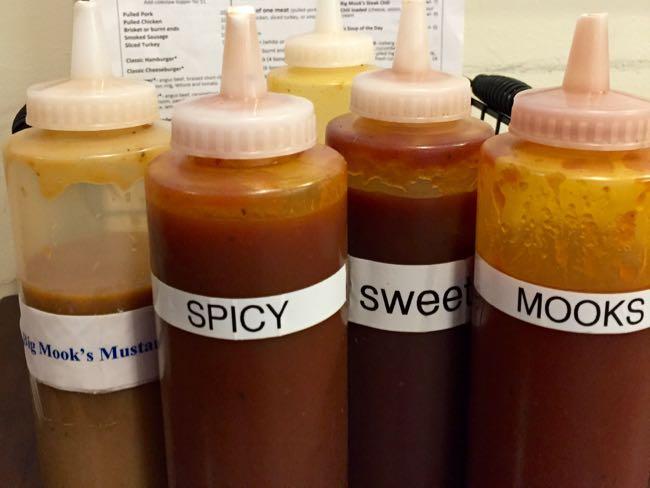 Mookie's BBQ sauces