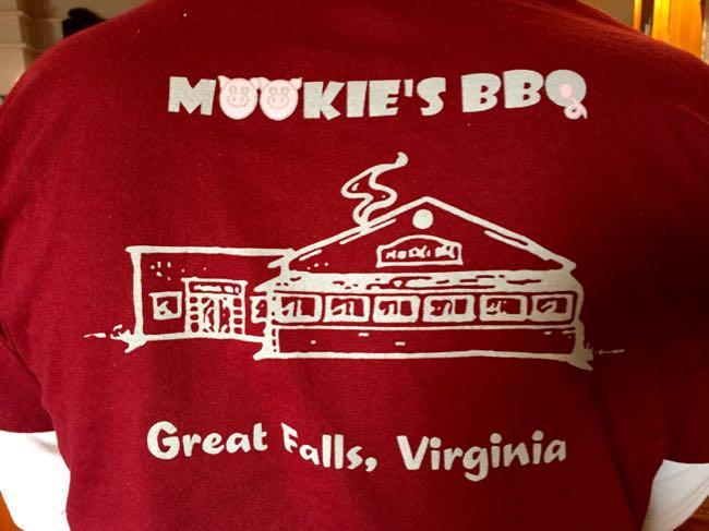 Mookie's BBQ shirt