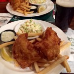 Old Brogue fish and chips