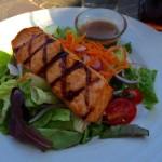 Old Brogue salmon salad