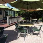 Patio at Griffin Tavern, Flint Hill