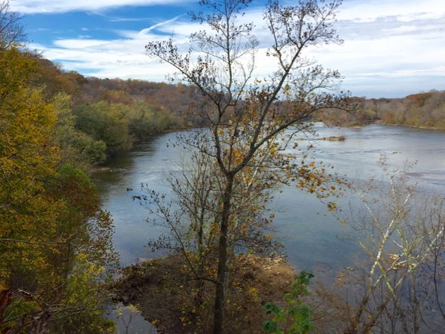 Potomac view Stubblefield Overlook Scotts Run