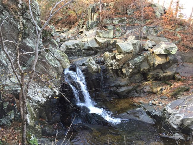 Scotts Run NP waterfall