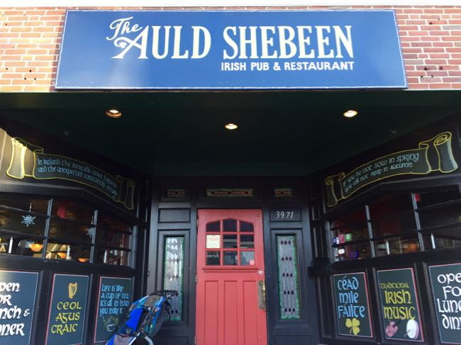 The Auld Shebeen is a favorite Irish pub in Fairfax Virginia