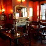 The Auld Shebeen dining area