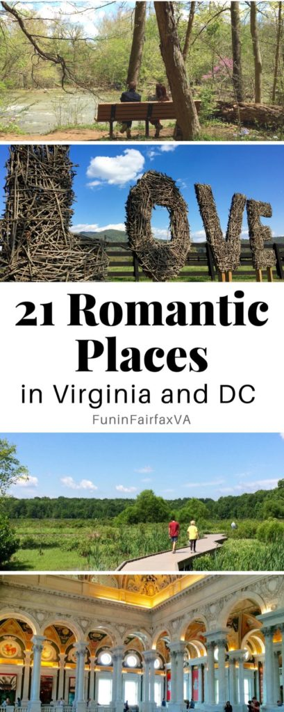 21 romantic places in virginia and dc no reservation required for Romantic places near dc