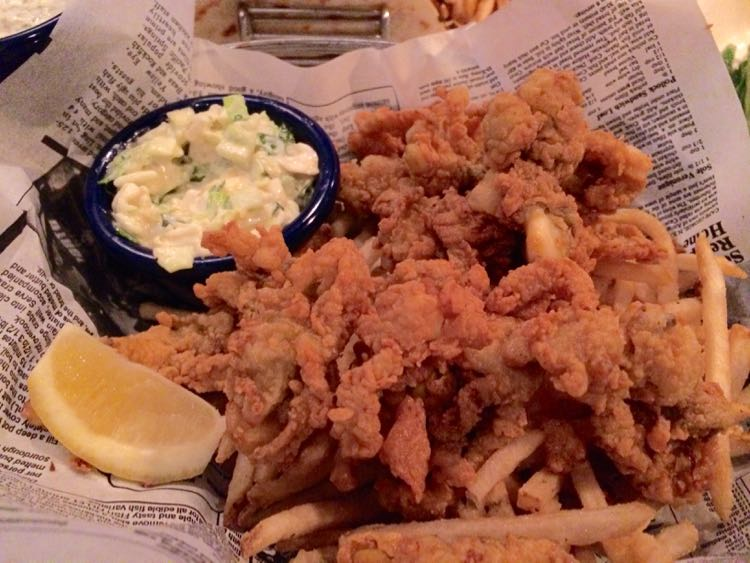 Fords Fish Shack fried Ipswich clams