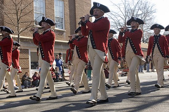 George Washington Birthday Parade, photo: Visit Alexandria