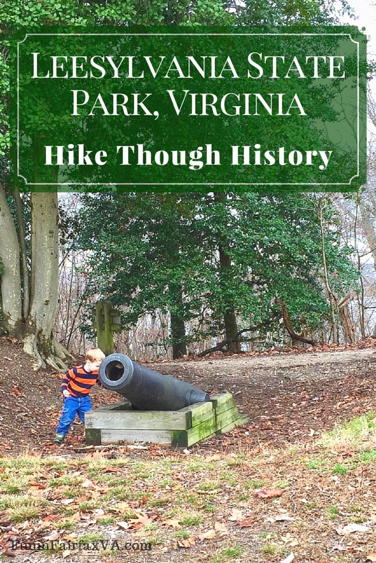 This 2-mile Leesylvania State Park hike follows the Lee's Woods Trail through historic sites and lovely woods with commanding views of the Potomac River.