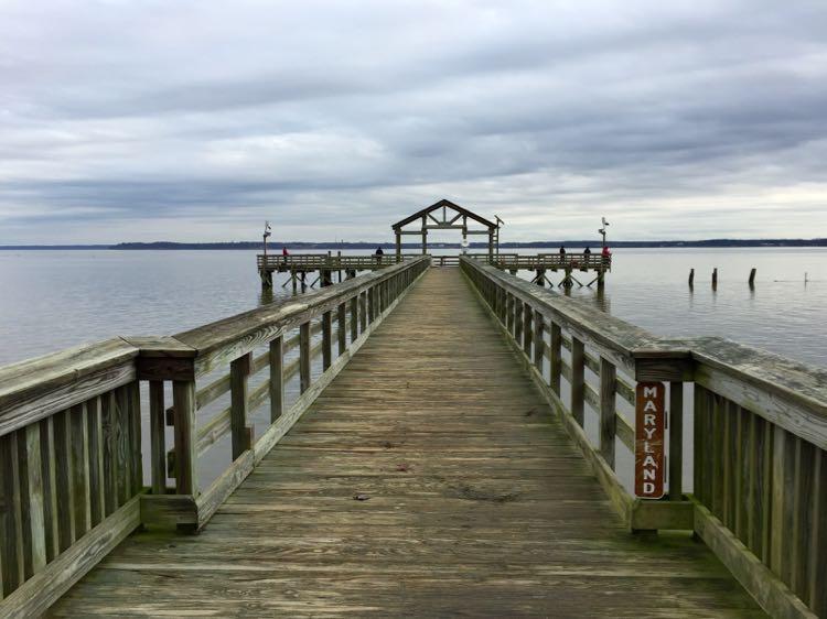 Leesylvania State Park fishing pier