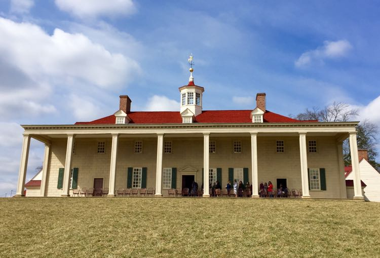 Mount Vernon East Front and Piazza
