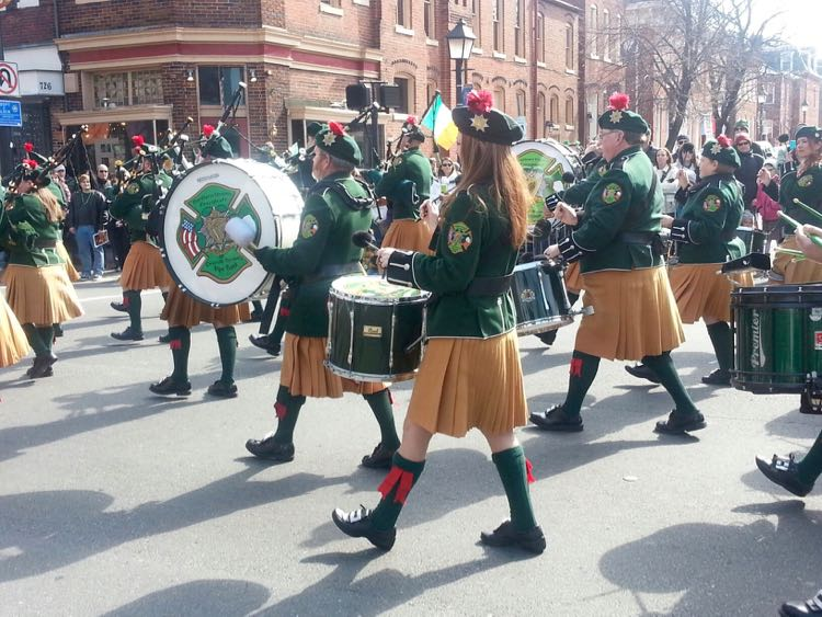 St Patrick's Day Parade photo credit: Ballyshaners