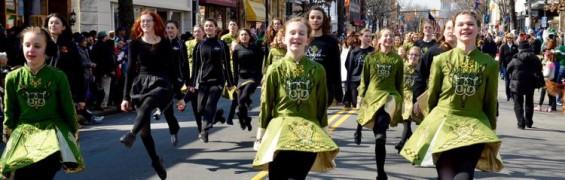 St Patricks Day dancers photo credit Ballyshaners