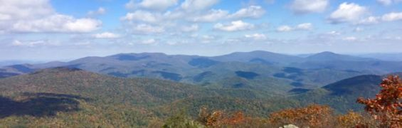 View from Marys Rock north Shenandoah NP