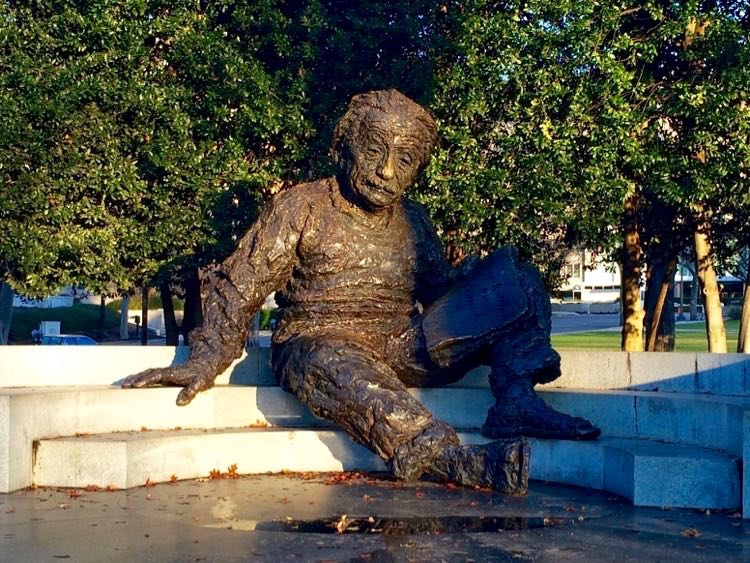 Albert Einstein Memorial in Washington DC