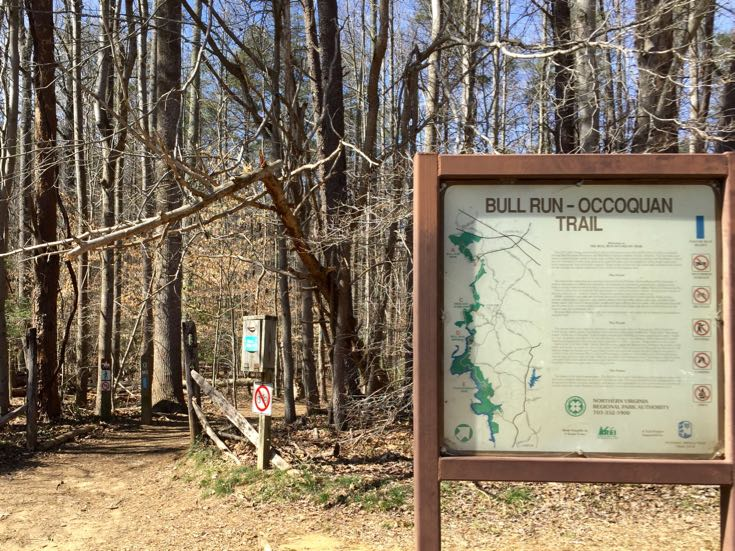 Bull Run Occoquan Trailhead at Fountainhead Park