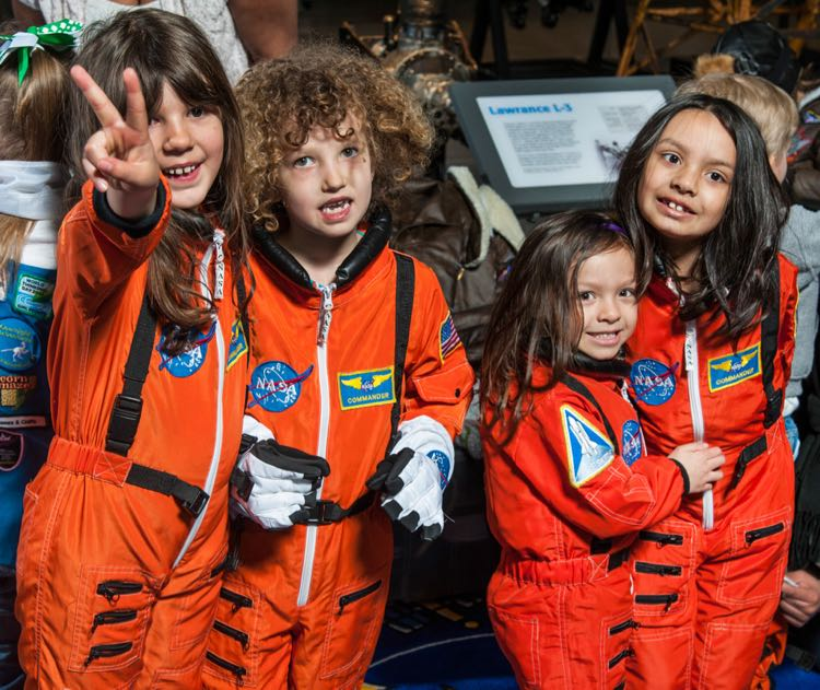 Museums, Smithsonian Institution, National Air and Space Museum (NASM), Events, Family Days, Women in Aviation and Space, photo: Dana Penland