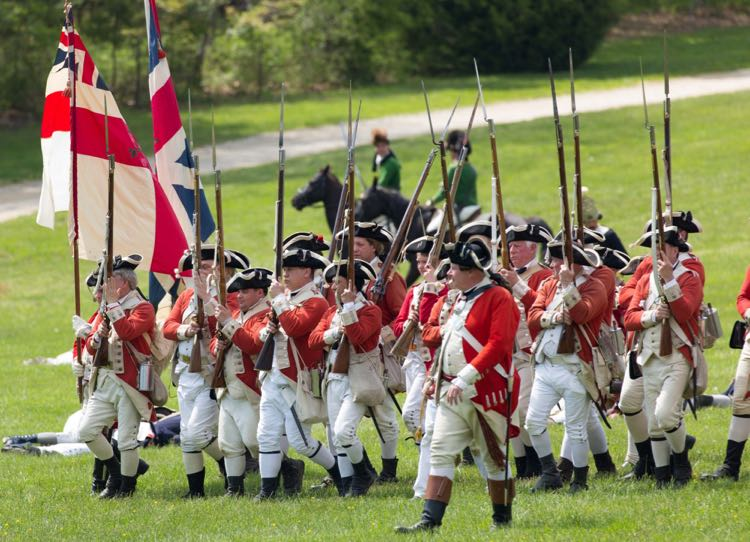 Revolutionary War Weekend photo credit George Washingtons Mount Vernon