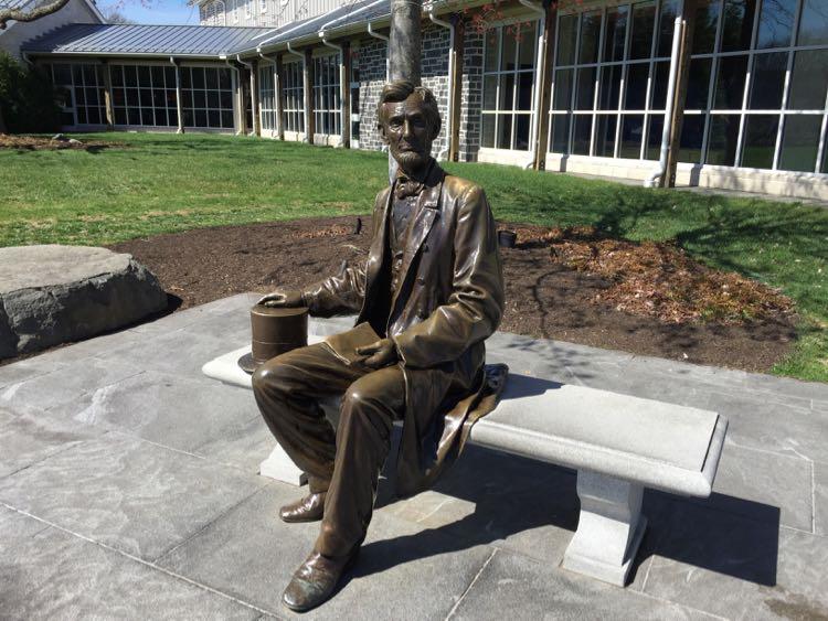 Abraham Lincoln Gettysburg NMP Visitor Center