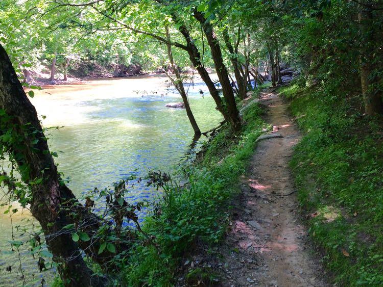 Bull Run - Occoquan Trail in Clifton Virginia