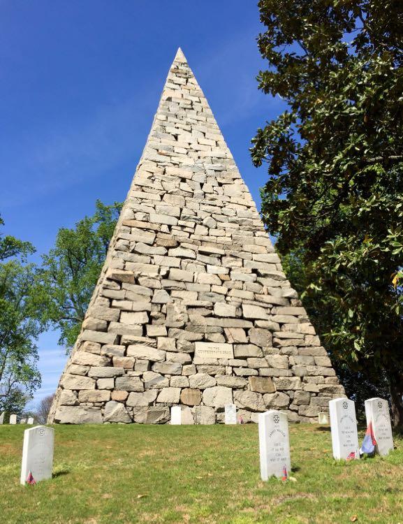 Confederate Memorial Hollywood Cemetery Richmond VA