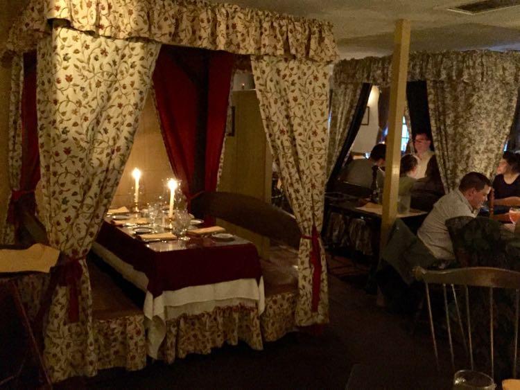 Dinner at Dobbin House Gettysburg PA