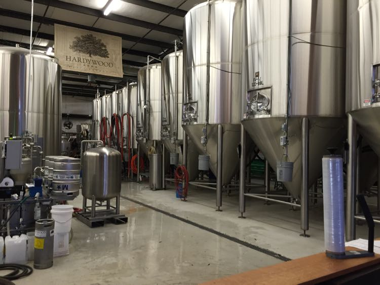 Hardywood Park Craft Brewery, Richmond Virginia