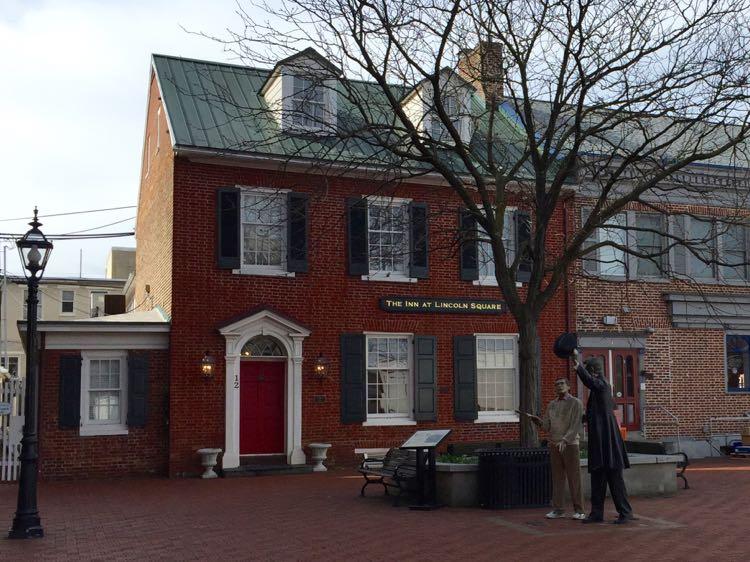 Inn at Lincoln Square Gettysburg PA