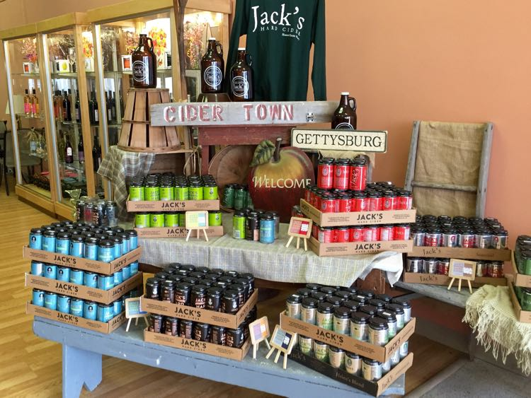 Jacks Hard Cider Hauser Estate Gettysburg PA