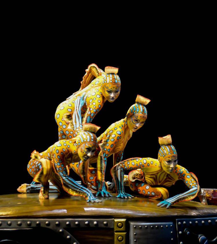 KURIOS contortionists Cirque du Soleil