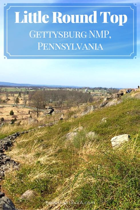 Saturday Postcard View From Little Round Top Gettysburg Nmp