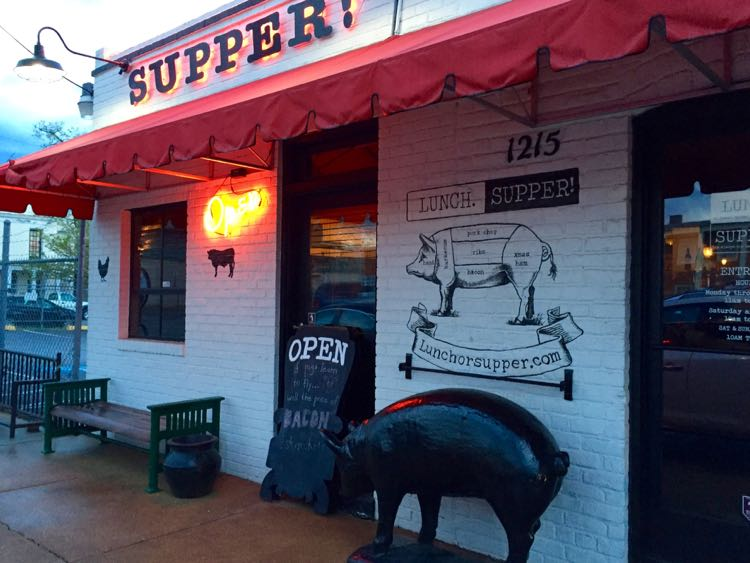 Lunch or Supper! Richmond Virginia