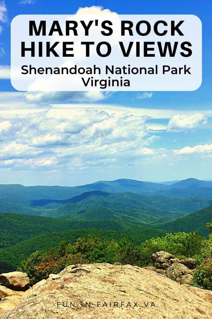 This Mary's Rock hike on the Appalachian Trail includes two spectacular Shenandoah vistas and a rocky outcropping perfect for a rest or a scramble.